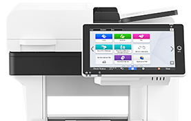 IM 550F Black and White Laser Multifunction Printer