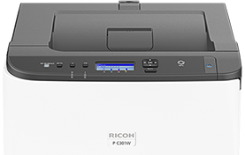 P C301W Color Laser Printer