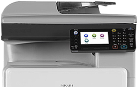 MP 301SPF Black and White Laser Multifunction Printer