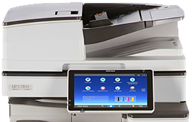 RICOH MP C3504 Color Laser Multifunction Printer