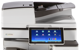 RICOH MP C4504ex Color Laser Multifunction Printer