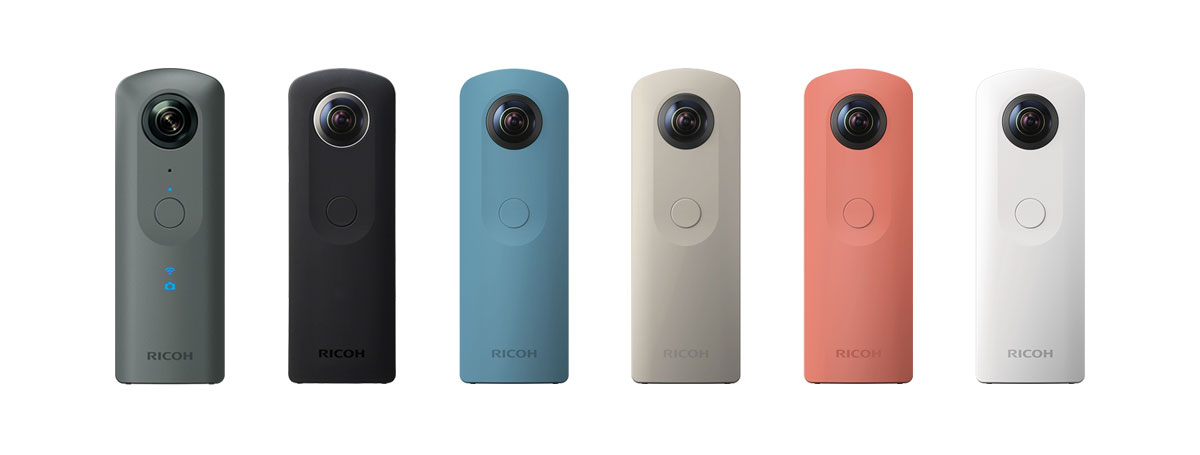 Ricoh camera models theta