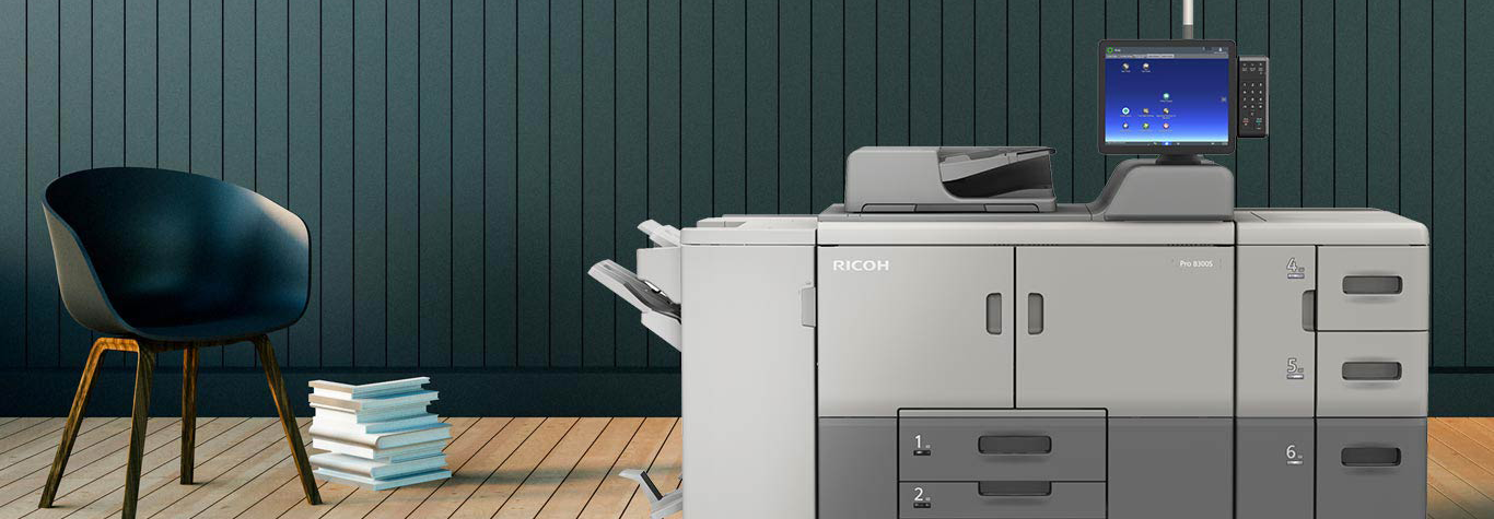 Pro 8300s Black and White Cut Sheet Printer