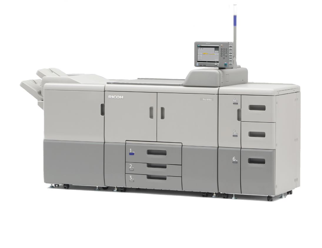 Photo of the PRO8110e-printer