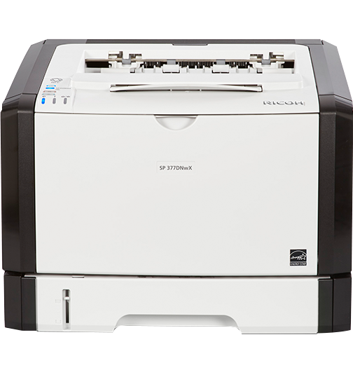 RICOH SP 377DNwX Black and White Laser Printer