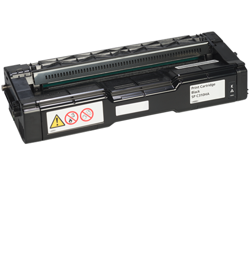 RICOH Black Print Cartridge AIO SP C310HA
