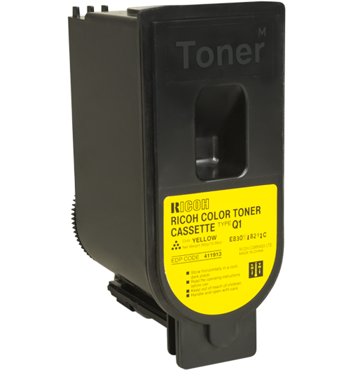 RICOH Yellow Toner Bottle Type Q1