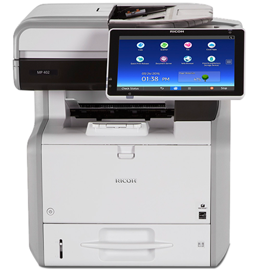 MP 402SPF Black and White Multifunction Printer