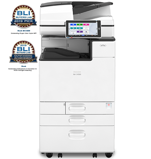 IM C4500 Color Laser Multifunction Printer